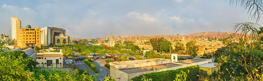 The old and new Cairo Royalty Free Stock Images