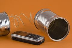 Old and New Communication Royalty Free Stock Photos