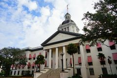Florida State house. The Old and New Florida state building at Tallahassee, Florida, USA Royalty Free Stock Photo
