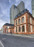Old and New in Frankfurt, Germany Stock Images