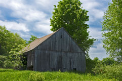 Old New Hampshire Barn Stock Photography