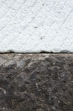 Old and new marble block Stock Images