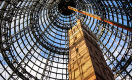 Old and new in Melbourne Royalty Free Stock Photography
