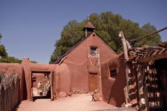 Old New Mexican Village Royalty Free Stock Images