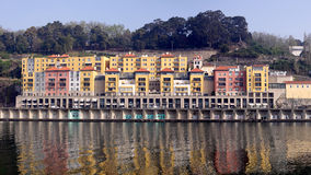 Old and new Porto architecture Royalty Free Stock Photos