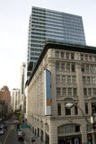 Old and new Seattle Stock Image