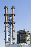 Old and new steam towers Stock Photography
