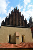 The Old-New Synagogue, Prague, Czech Republic Royalty Free Stock Photography