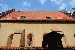 The Old-New Synagogue, Prague, Czech Republic Stock Photos