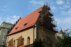 The Old-New Synagogue, Prague, Czech Republic Stock Photo