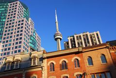 Old and new Toronto Stock Photo