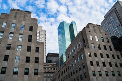 Old and New York Royalty Free Stock Images