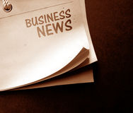 Old news paper Royalty Free Stock Image