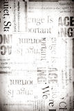 Old news paper Stock Image