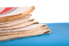 Old newspaper Royalty Free Stock Images