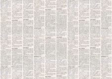 Old newspaper texture background. Old newspaper paper texture background. Blurred vintage newspaper background. Aged paper textured page. Gray collage news paper royalty free illustration