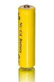 Old Ni-Cd battery Stock Photo