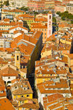 Old Nice. Old town in Nice, France stock photos