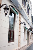 Old nick pub. In bucharest romania Stock Photography