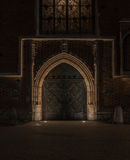 Old night building Royalty Free Stock Photo
