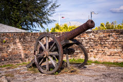 Old nineteenth century cannon Royalty Free Stock Image