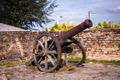 Old nineteenth century cannon Royalty Free Stock Image