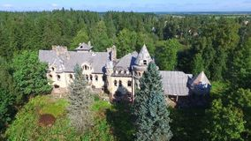 Old noble estates stock video