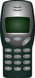 Old Nokia 3210 Phone Royalty Free Stock Image