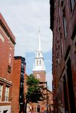 Old North Church in Boston Stock Images