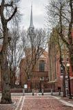 Old North Church Boston MA Stock Photo