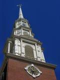 Park Street Church Steeple Royalty Free Stock Photos