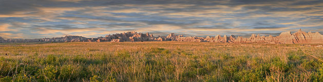Old Northern Road Badlands Panorama Stock Images