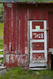 Old norwegian barn royalty free stock image