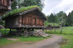 Old Norwegian Farm House, Oslo, Norway Stock Photos