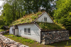 Old Norwegian House Stock Photography