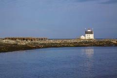 Old norwegian lighthouse Royalty Free Stock Image