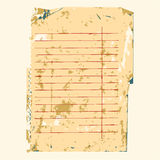 Old note paper background Stock Photos