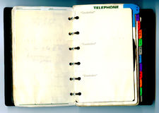 Old notebook Royalty Free Stock Images