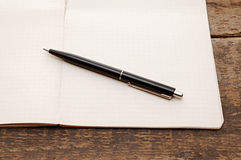 Old notebook Royalty Free Stock Photos