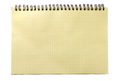 Old notebook Stock Photography
