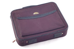 Old notebook bag. Stock Image