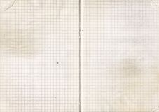 Old notebook paper Stock Photo