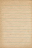 Old Notebook Paper Texture Stock Images