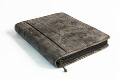 Old notebook's cover Royalty Free Stock Photos