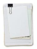 Old notepad Stock Photos