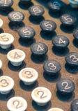 Old Numeric Keypad (1). Close Up of Old Fashioned Numbered Keypad Stock Image
