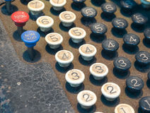 Old Numeric Keypad (2) Stock Photo