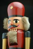 Old Nutcracker. Close up of old German nutcracker royalty free stock images