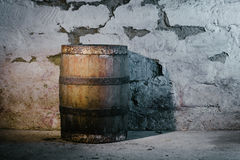 Old oak barrel Royalty Free Stock Images