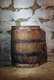 Old oak barrel Royalty Free Stock Photography